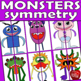 {SYMMETRY ART} {Colouring pages for kids} {Lines of symmetry}