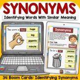 SYNONYMS: BOOM DIGITAL CARDS GOOGLE CLASSROOM