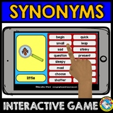 SYNONYMS GAME (GRAMMAR CENTER) BOOM CARDS LANGUAGE GAME (G