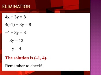 SYSTEM OF EQUATIONS (PPT)