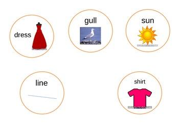 S/Z Word-Final, Matching, Singular & Plural Snowmen