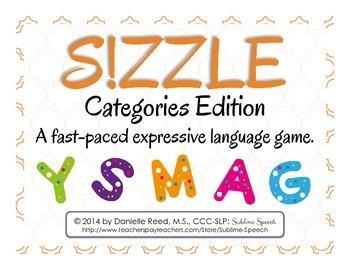 S!ZZLE!: Categories Edition