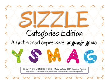 S!ZZLE!: Categories Edition
