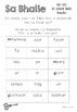 Sa Bhaile- Sentence Structure - Gearr agus Scríobh