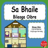 Sa Bhaile Worksheets (Irish 'At Home' Worksheets)