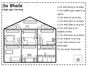 Sa Bhaile Worksheets (Irish 'At Home' Worksheets)