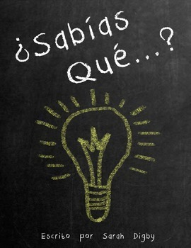 """¿Sabías Que...?"" – Original Spanish Book of Interesting Facts"