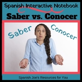Saber & Conocer Interactive Notebook Activity