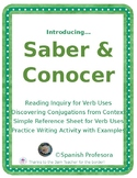 Saber & Conocer Introduction Packet