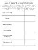 Saber & Conocer Introduction Packet