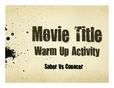 Saber Vs Conocer Movie Titles