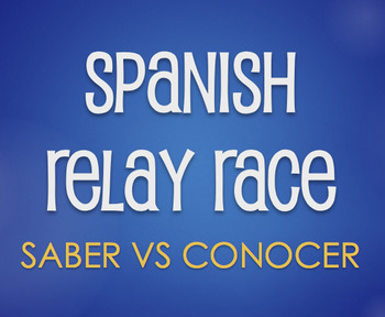 Saber Vs Conocer Relay Race