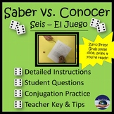 "Saber and Conocer ""Seis"" Game"