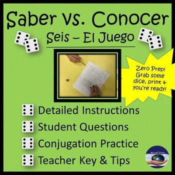 """Saber and Conocer """"Seis"""" Game"""