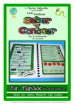 Saber and Conocer Spanish Verbs MagnetMat Fun