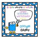 Saber vs Conocer Google Slides Notes and Workeets