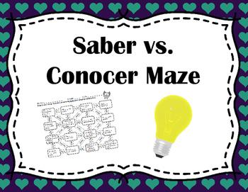 Saber vs. Conocer Maze
