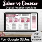 Saber vs Conocer Practice Packet