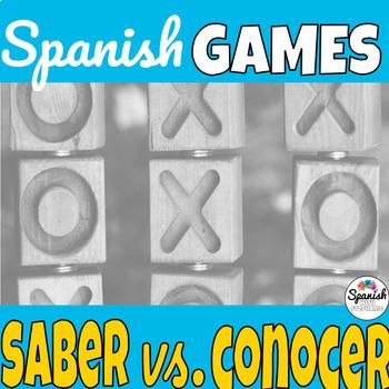 Saber y Conocer: Spanish Tic-Tac-Toe Game