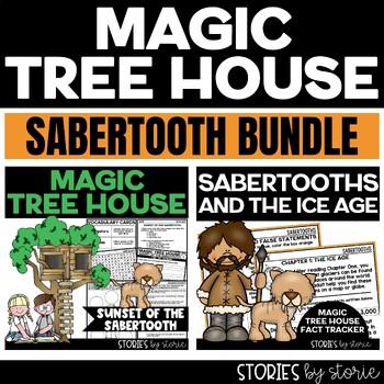 Sabertooth Magic Tree House Bundle