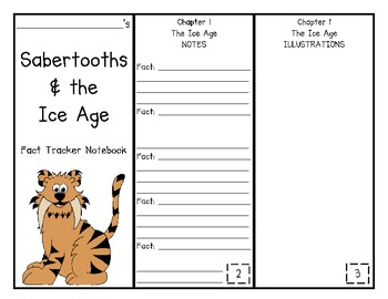 Sabertooths and the Ice Age Fact Tracker Research Guide