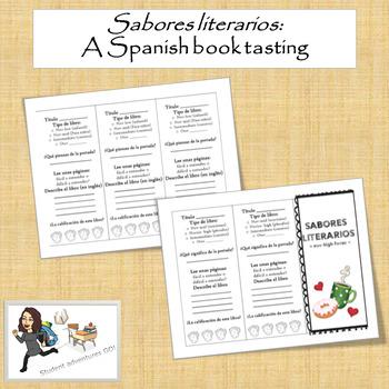 Sabores literarios - a Spanish book tasting!