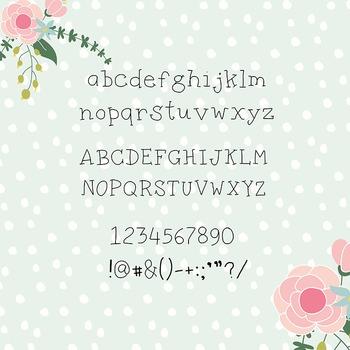 Sabrina Yasmin Digital font - Hand written font- CU OK