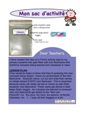 Sac d'activité- Instructions- for PRIMARY CENTRES