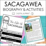 Sacagawea Biography & Reading Response Activities | Digita