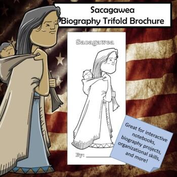 Sacagawea Biography Trifold Brochure