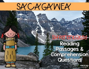 Sacagawea Differentiated Reading Passages & Questions