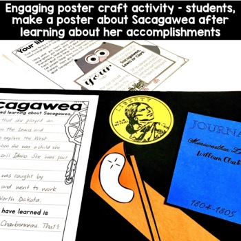 Sacagawea Craft Activity for grades 1 and 2