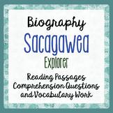 Sacagawea Biography Reading Passages Activities