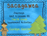 Sacagawea Journeys Unit 4 Lesson 20 Fourth Grade Supplement Activities