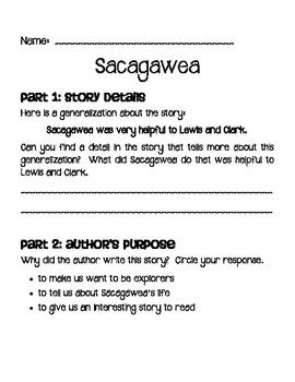 Sacagawea Packet