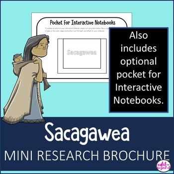 Sacagawea Research Bio Brochure Interactive Notebook