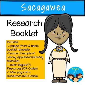 Sacagawea Research Mini-Booklet