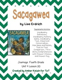 Sacagawea Supplemental Activities 4th Grade Journeys Unit 4, Lesson 20