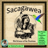 Sacagawea: Informational Text Passages & Printables for Complete ELA Review
