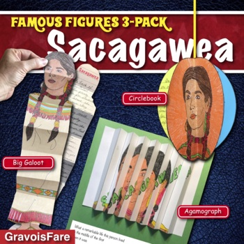 Sacagawea BIOGRAPHY: The Lewis and Clark Expedition -- 3 Hands-On Projects