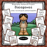 Biography Research Project - Sacagawea Unit Study Includin