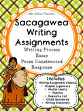Sacagawea Writing