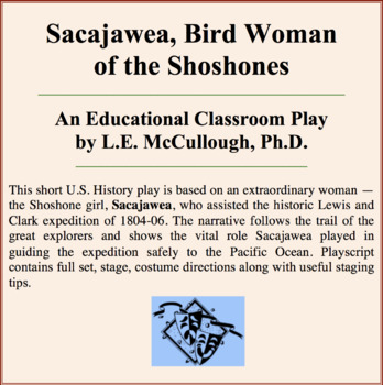Sacajawea:  Bird Woman of the Shoshones