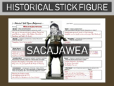 Sacajawea Historical Stick Figure (Mini-biography)