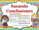Sacando Conclusiones-Drawing Conclusions - Digital - Distance Learning