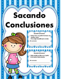 Sacando Conclusiones 2 -Drawing Conclusions - Spanish- Digital Learning