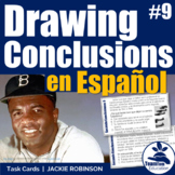 Sacando Conclusiones - Drawing Conclusions SPANISH Task Cards 9