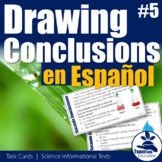 Sacando Conclusiones - Drawing Conclusions Task Cards 5 (Spanish)