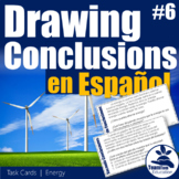 Sacando Conclusiones - Drawing Conclusions Task Cards 6 (Spanish)