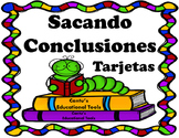 Sacando Conclusiones - Drawing Conclusions - Task Cards - Digital Learning